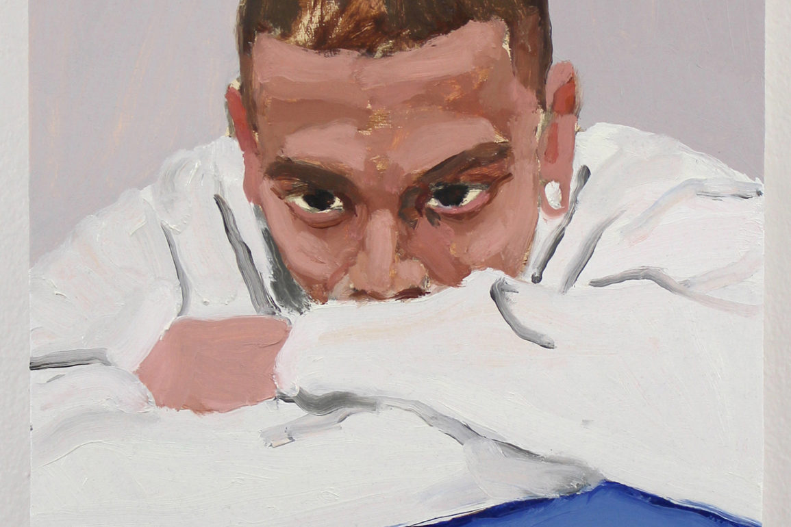 Painting of man